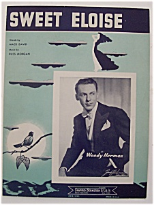 Sheet Music For 1942 Sweet Eloise