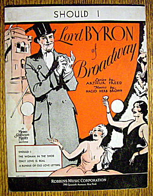 Sheet Music For 1929 Should I