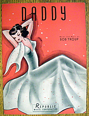 Sheet Music For 1941 Daddy