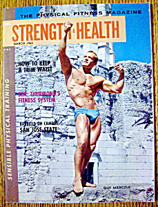 Strength & Health Magazine-march 1963-guy Mierczuk