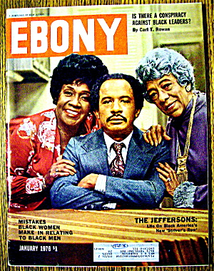 Ebony Magazine January 1976 The Jeffersons