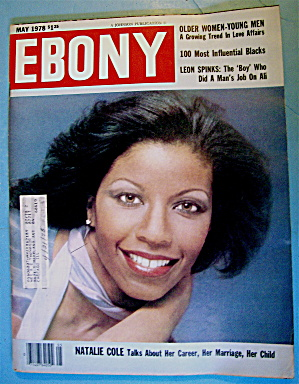 Ebony Magazine-may 1978-natalie Cole