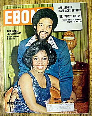 Ebony Magazine-march 1975-gladys Knight