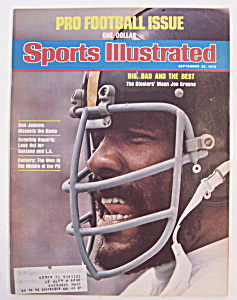 Sports Illustrated-September 22, 1975-Mean Joe Greene (Image1)