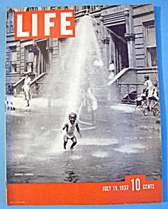 Life Magazine - July 19, 1937 - Summer Shower (Image1)