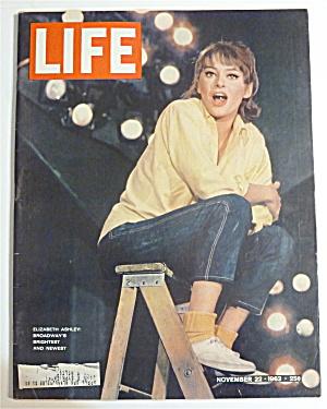 Life Magazine-November 22, 1963-Elizabeth Ashley (Image1)
