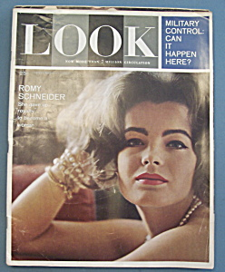 Look Magazine - September 11, 1962 - Romy Schneider