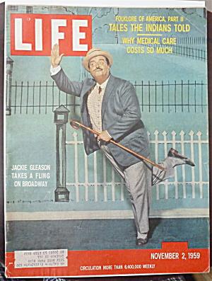 Life Magazine-November 2, 1959-Jackie Gleason (Image1)