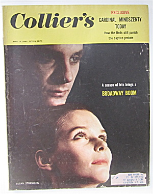 Collier's Magazine April 13, 1956 Susan Strasberg