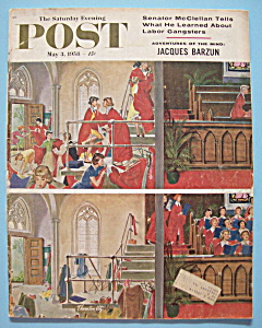 Saturday Evening Post Magazine May 3, 1958 J Barzun  (Image1)