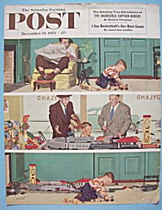 Saturday Evening Post Cover -Dec 19, 1953- Dick Sargent (Image1)