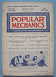 Popular Mechanics Magazine-march 1906-enlisting In Navy