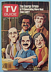 Tv Guide - July 16 - 22, 1977 - Barney Miller