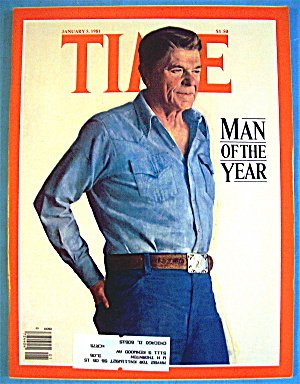 Time Magazine-january 5, 1981-ronald Reagan