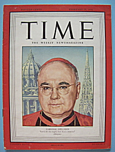 Time Magazine - February 25, 1946 - Cardinal Spellman (Image1)