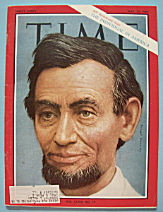 Time Magazine - May 10, 1963 - Abraham Lincoln (Image1)