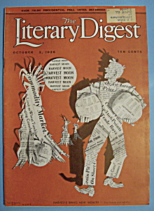Literary Digest Magazine - October 3, 1936