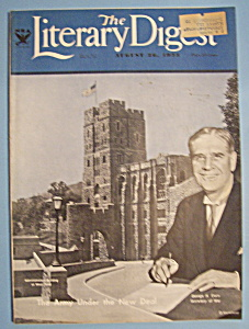 Literary Digest Magazine - August 26, 1933