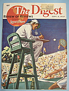 Literary Digest Magazine - September 4, 1937