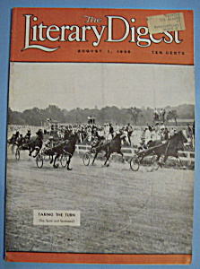 Literary Digest Magazine - August 1, 1936