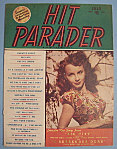 Hit Parader - July 1948 - Janet Blair