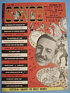 Songs That Will Live Forever - Sept 1953 - Walt Disney (Image1)