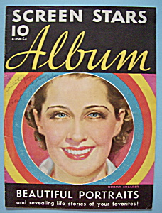 Screen Stars Album - 1930's - Norma Shearer
