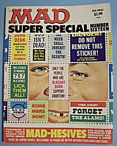 Mad Super Special Magazine-1975-number Sixteen