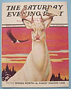 Saturday Evening Post Magazine - January 8, 1938 (Image1)