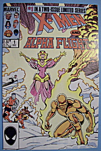X - Men Comics - December 1985 - X-men & Alpha Flight (Image1)