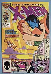 X - Men Comics - April 1986 - The Uncanny X-men