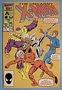 X - Men Comics - March 1987 - The Uncanny X-Men (Image1)