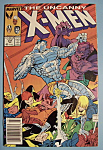 X - Men Comics - July 1988 - The Uncanny X-Men (Image1)