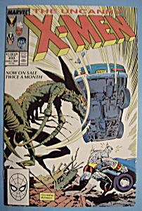 X - Men Comics - Early Sept 1988 - The Uncanny X-Men (Image1)