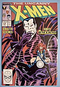 X - Men Comics - December 1988 - The Uncanny X-Men (Image1)