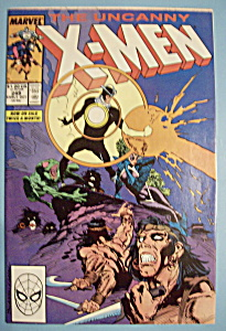 X - Men Comics - Early Oct 1989 - The Uncanny X-Men (Image1)