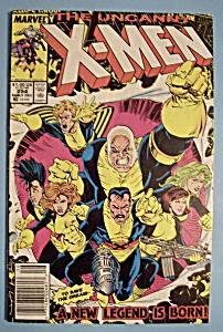 X - Men Comics - Early Dec 1989 - The Uncanny X-Men (Image1)