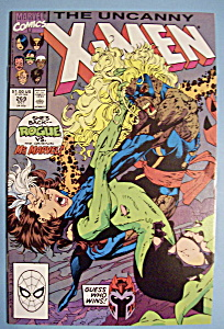 X - Men Comics - October 1990 - The Uncanny X-Men (Image1)