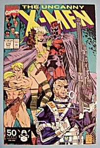 X - Men Comics - March 1991 - The Uncanny X-Men (Image1)