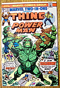 The Thing & Power Man Comic #13-january 1976