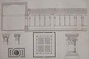 Cloitre De L'Eglise St Paul Hors Les Murs De Rome (Image1)
