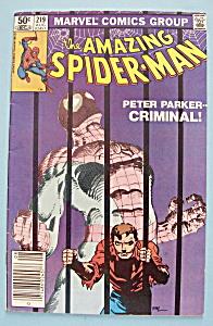 Spider-Man Comics - August 1981 - Peter Parker-Criminal (Image1)