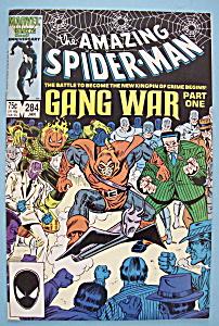 Spider-Man Comics - January 1987 - Gang War (Part 1) (Image1)
