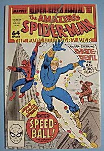 Spider-Man Comics -1988 Annual- Speed-Ball & Daredevil (Image1)