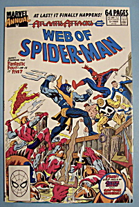 Web Of Spider-man Comics - 1989 - War Zone: New York
