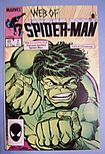 Web Of Spider-Man Comics - Oct 1985 - The Hulk (Image1)
