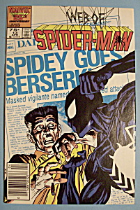 Web Of Spider-Man Comics - April 1986 - Point Of View (Image1)