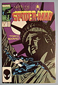 Web Of Spider-Man Comics -July 1987- Torch Bearing (Image1)
