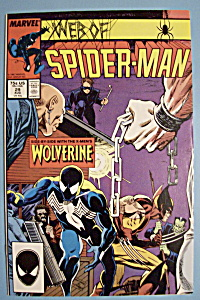 Web Of Spider-man Comics -aug 1987- Wolverine