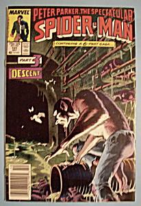Spider-Man Comics - October 1987 - Descent (Part 3) (Image1)